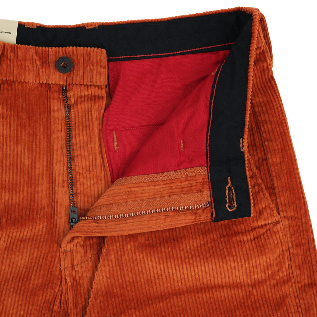 Levis Skateboarding Pleated Trousers in Bombay Brown - Open fly