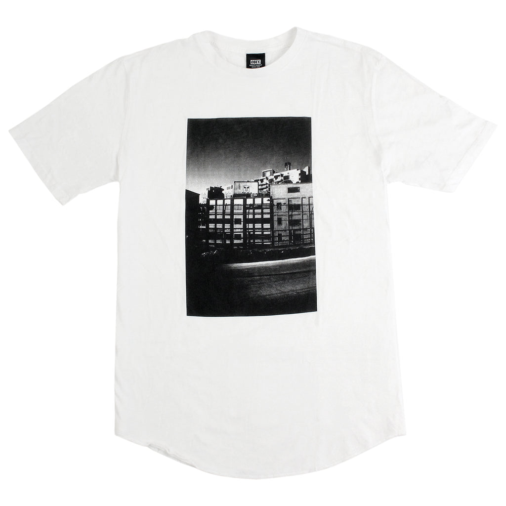 Obey Clothing City Icon Photo T Shirt in White