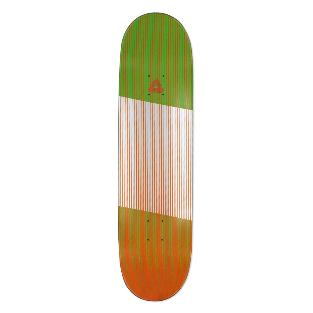 "Palace Linear Green Deck in 8.1"" - Top"