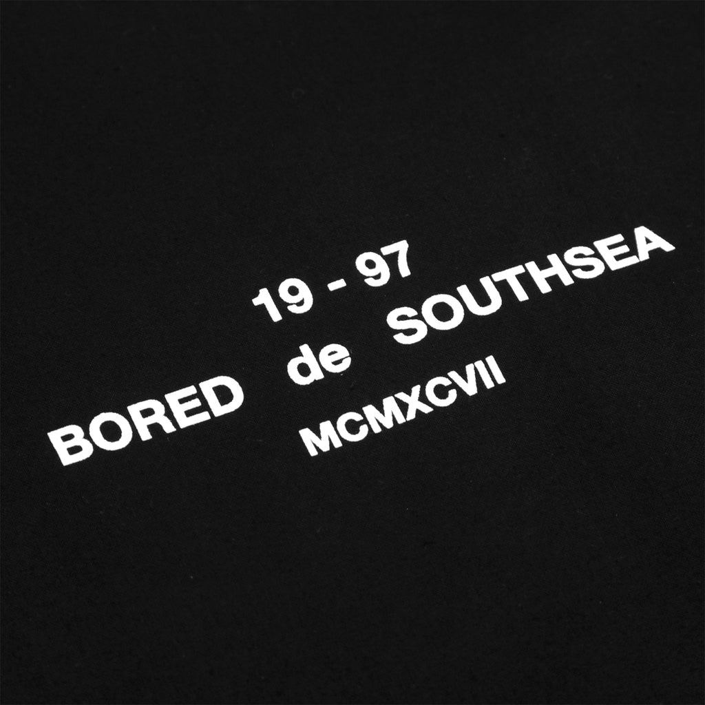 Bored of Southsea BDG Tote Bag in Black - Print