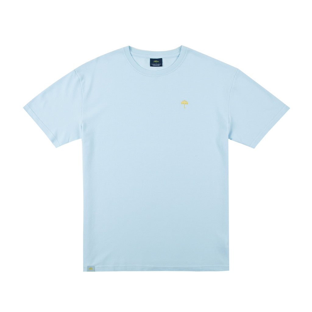 Helas Classic Pique T Shirt in Pastel Blue