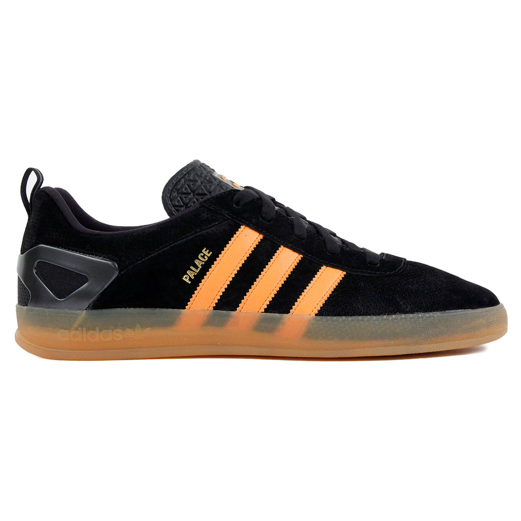 Palace x Adidas Palace Pro Shoes in Core Black / Bright Orange Gum 3