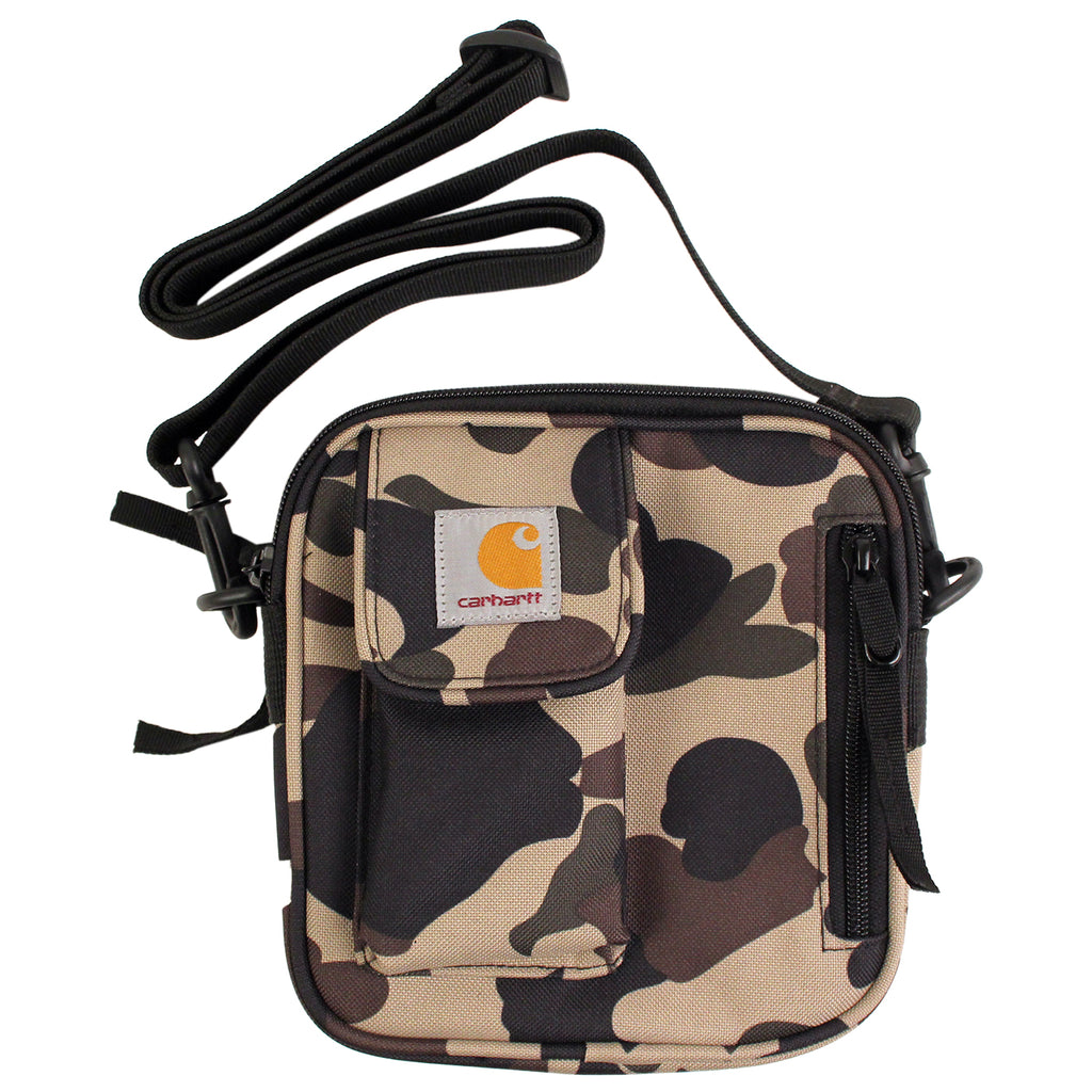 Carhartt WIP Essentials Bag in Camo Duck - Strap