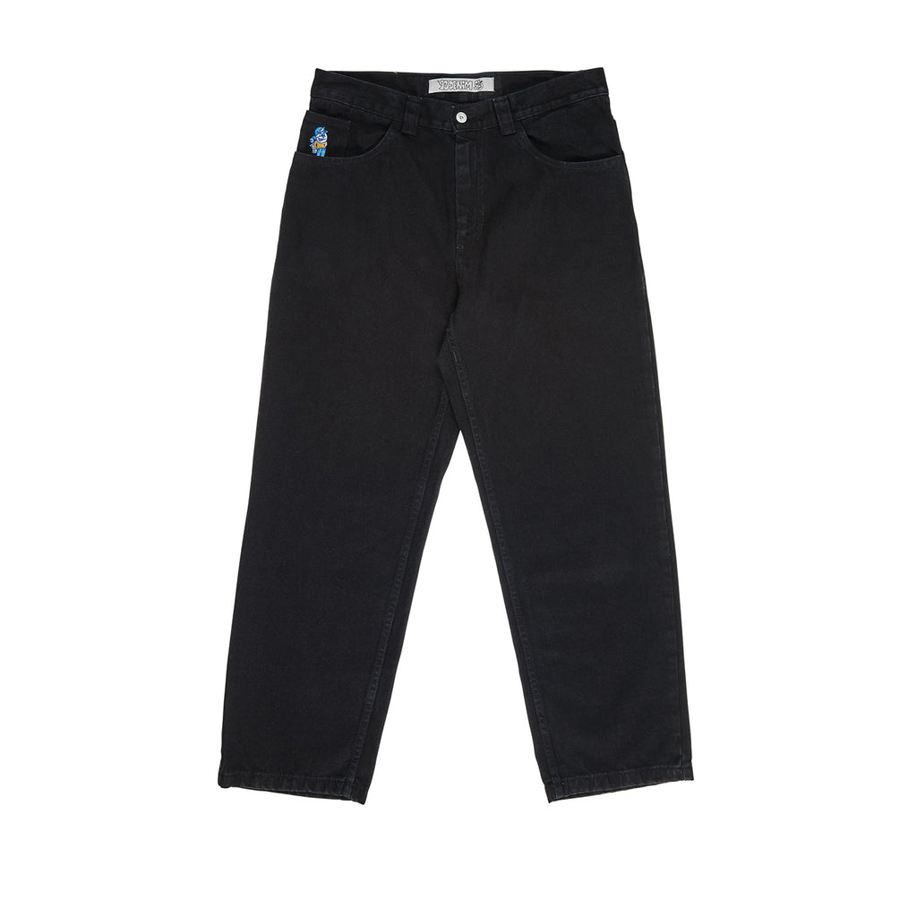 Polar Skate Co 93 Jeans in Pitch Black - Front