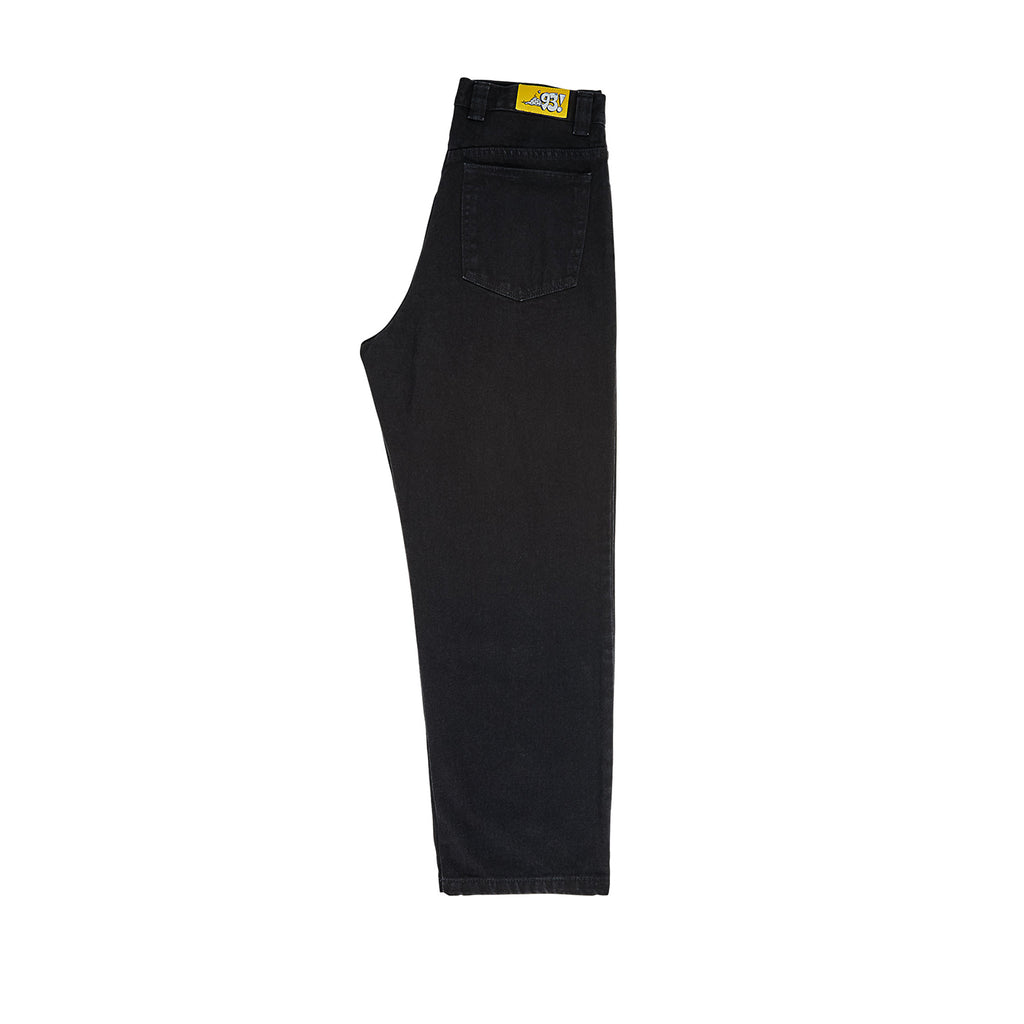 Polar Skate Co 93 Jeans in Pitch Black - Leg