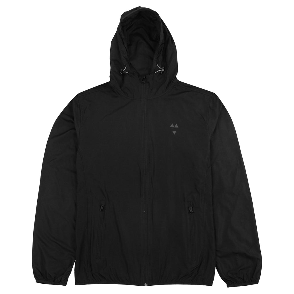 Wooden Wife Skateboards Logo Windbreaker in Black
