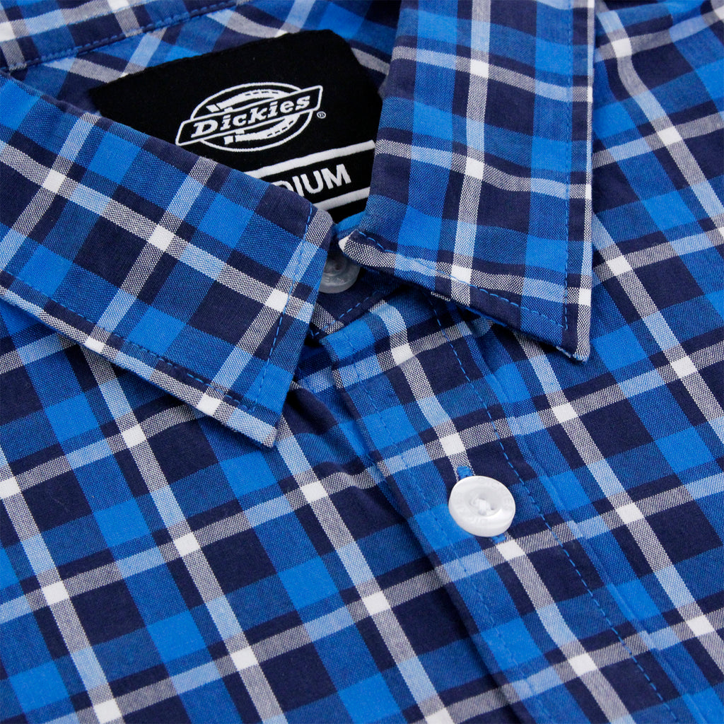 Dickies Laytonville Shirt in Blue - Collar