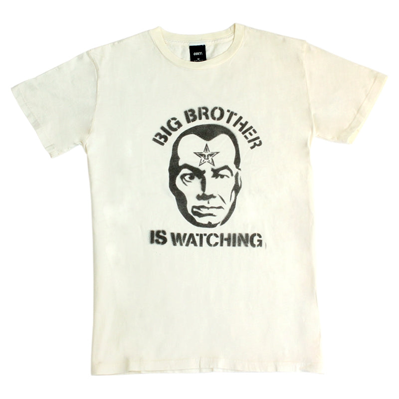 Obey Clothing Big Brother Is Watching T Shirt in Scour