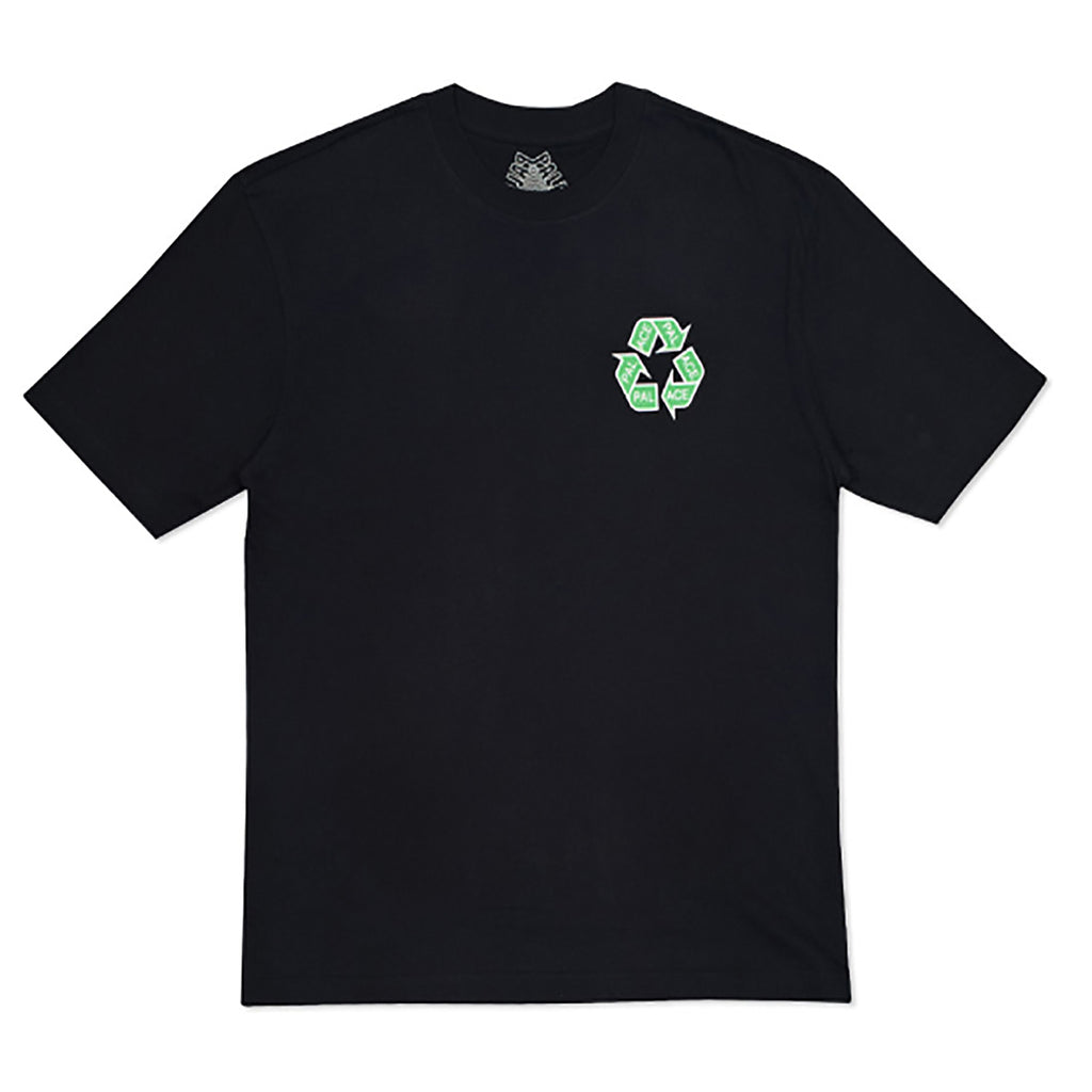 Palace P Cycle T Shirt in Black - Front