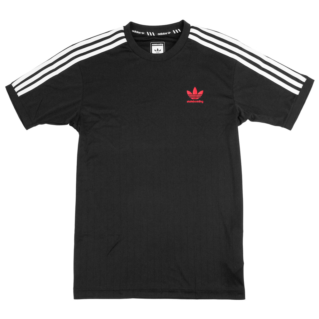 Adidas Skateboarding Clima Club Jersey in Black / White