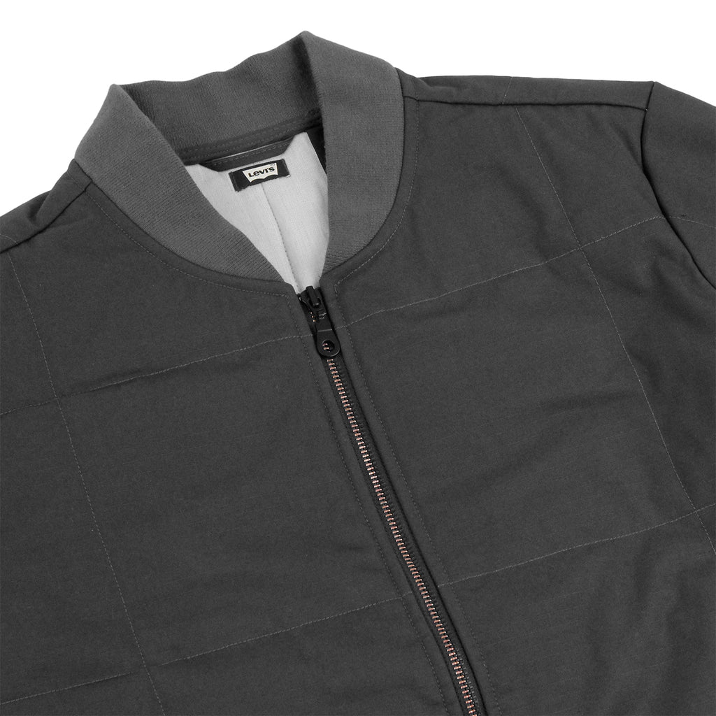 Levis Skateboarding Wharf Jacket in Graphite - Detail