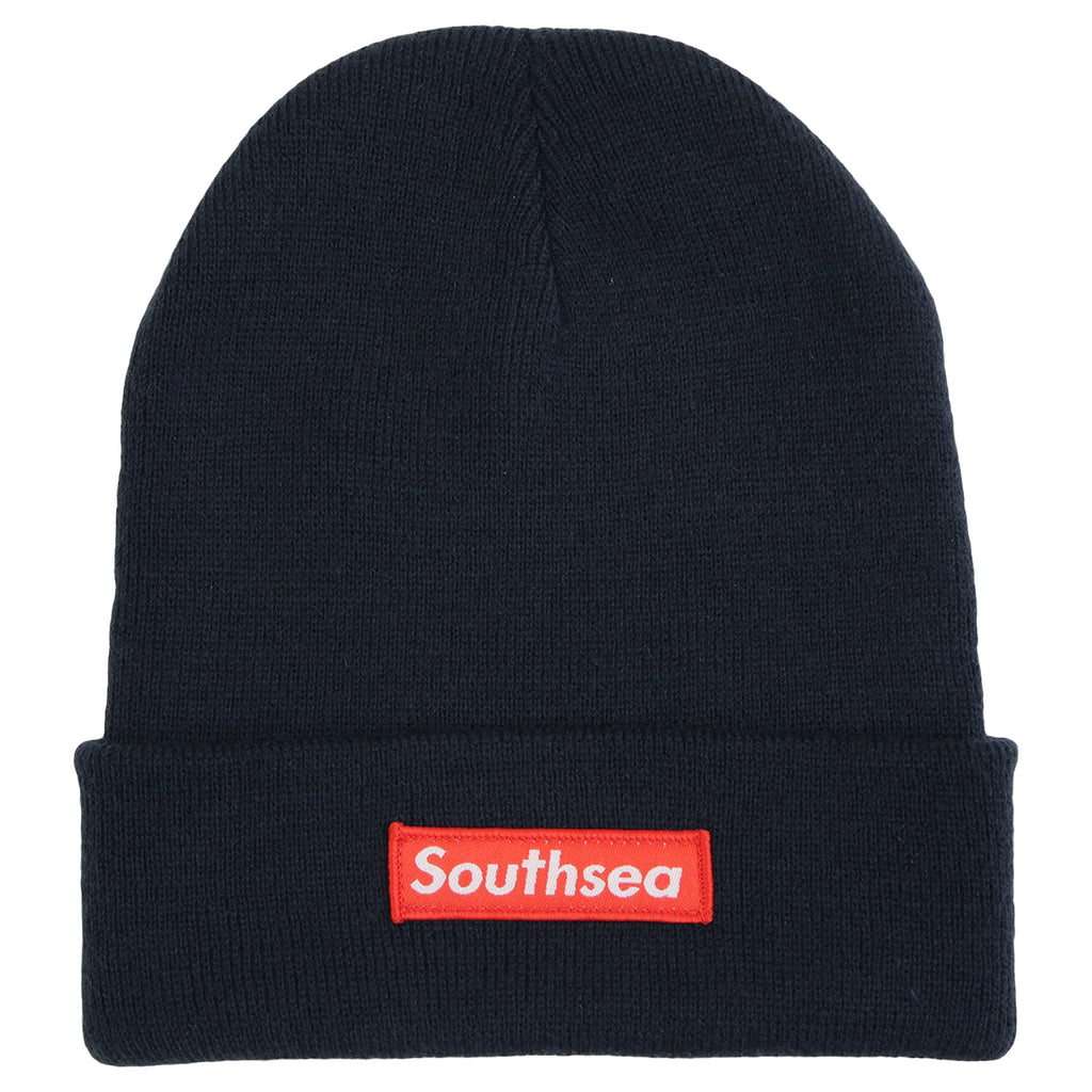 "Bored of Southsea ""Southsea"" Beanie in Navy"