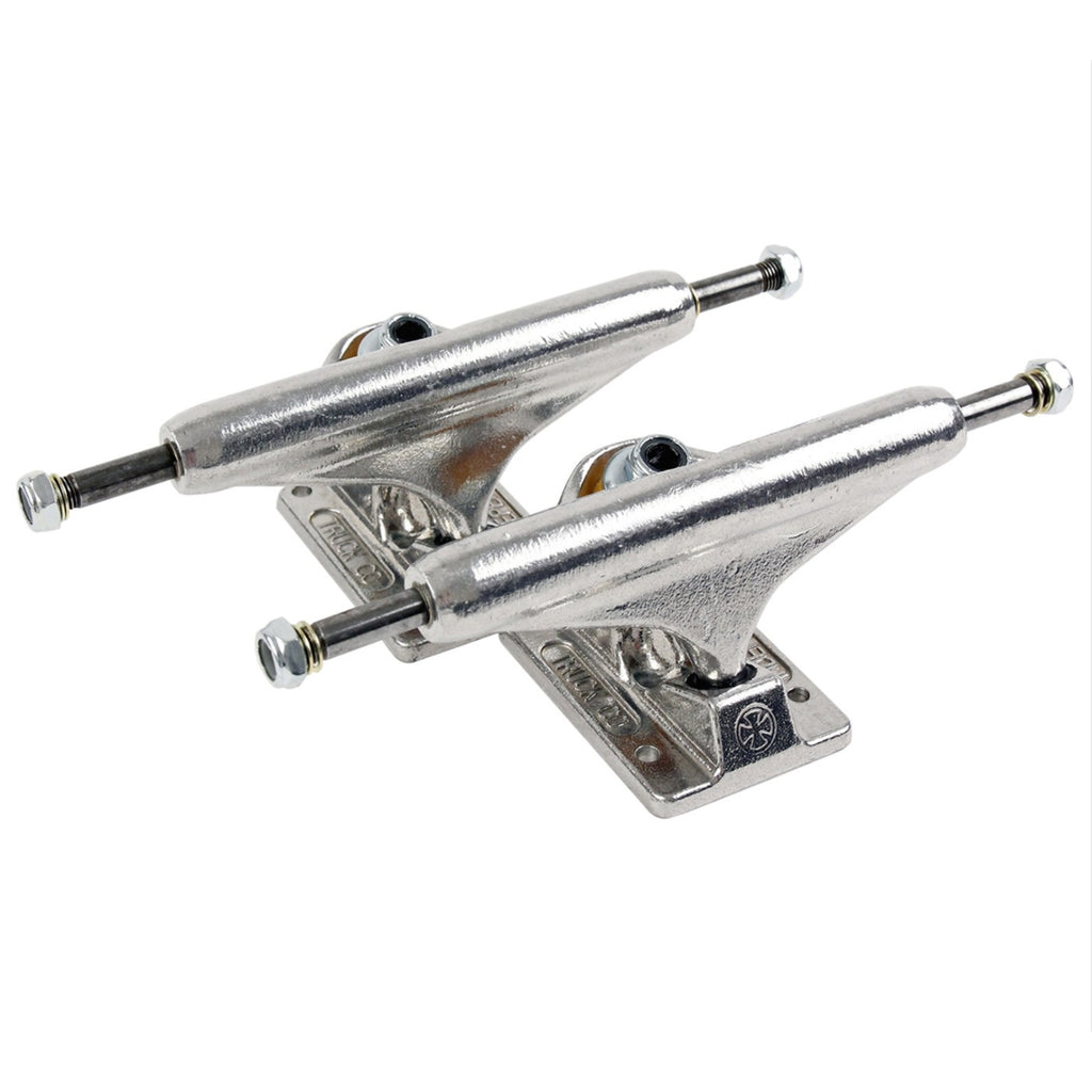 Independent Trucks 144 Standard Trucks in Polished Silver
