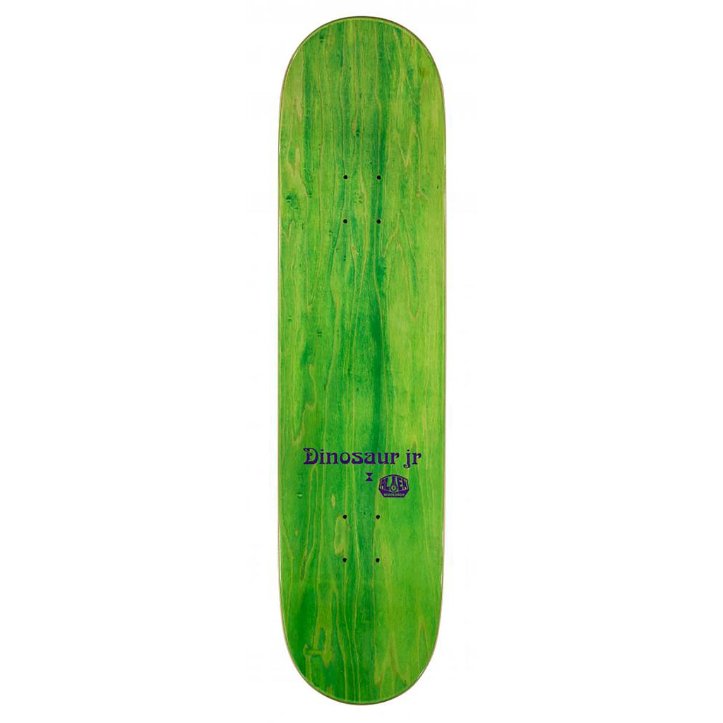 "Alien Workshop x Dinosaur Jr Give A Glimpse Skateboard Deck in 8.25"" - Top"