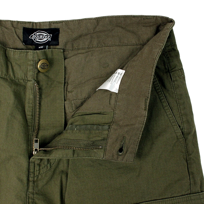 DICKIES NEW YORK SHORT DARK OLIVE - Zipper