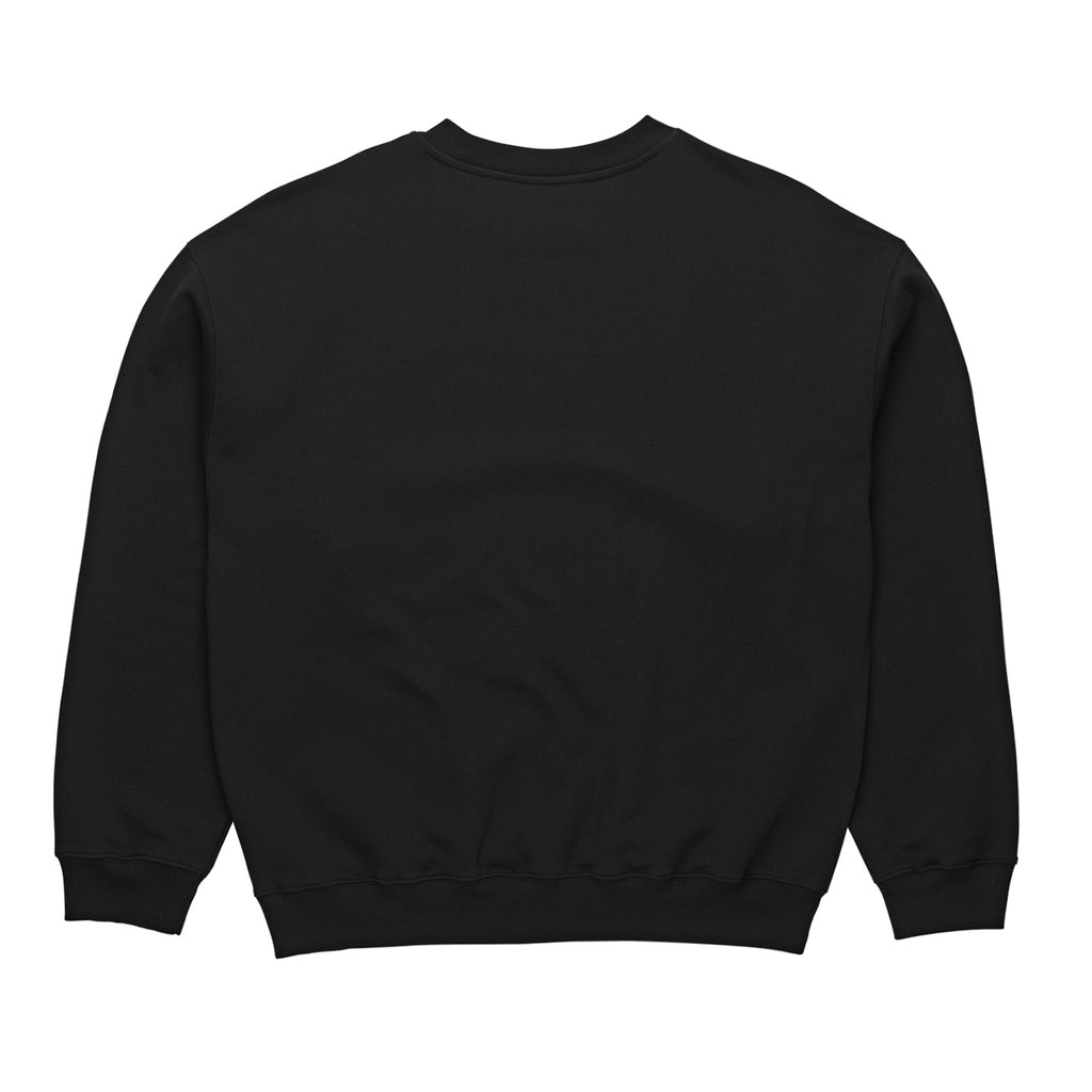Polar Skate Co Outline Crewneck Sweatshirt in Black - Back