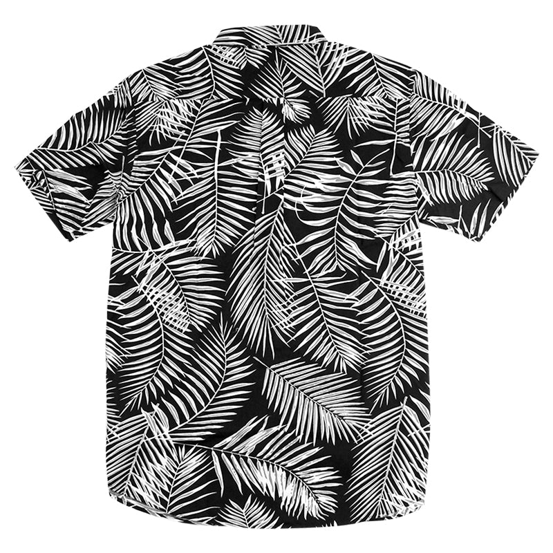 Stussy Palm S / S Shirt in Black - Back