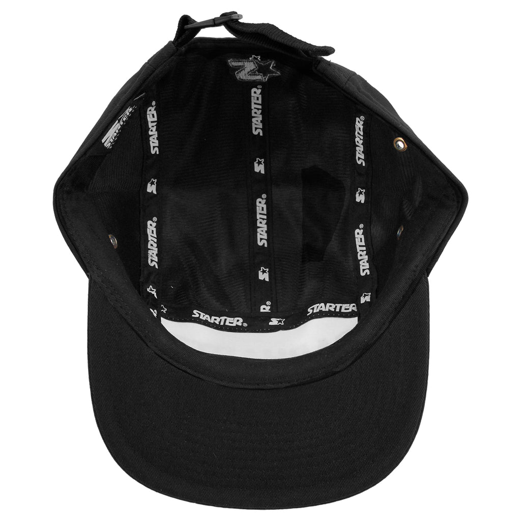 Carhartt Shore Starter Cap in Black / Black - Inside