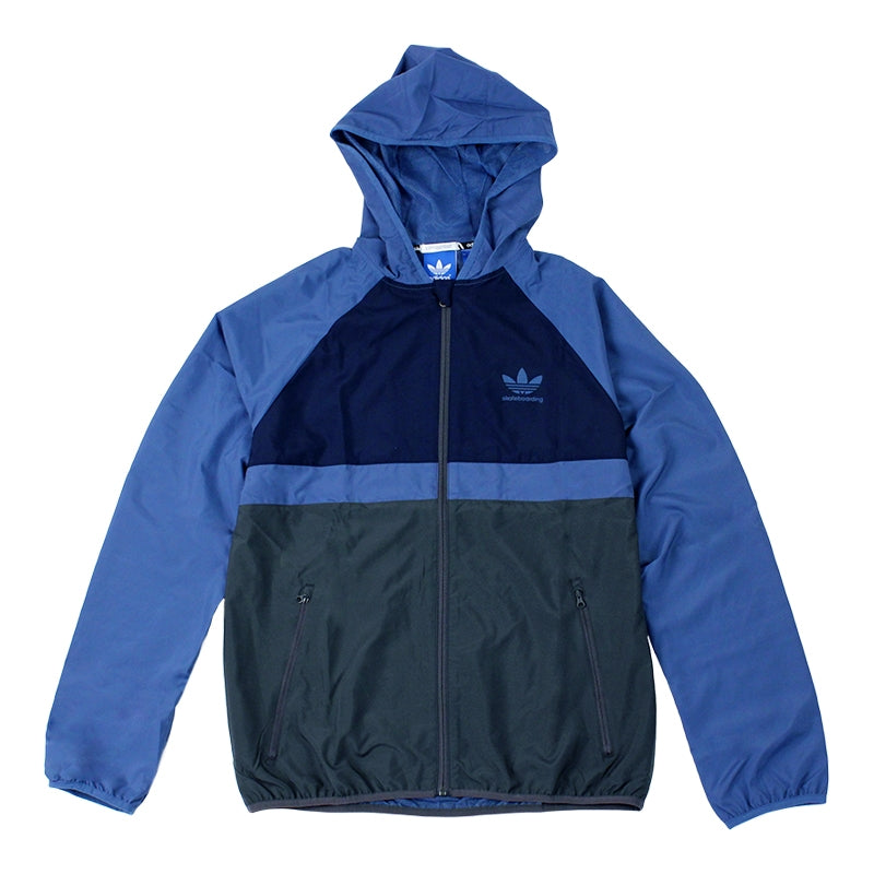 Adidas Skateboarding ADV Wind Jacket in Ash Blue/Collegiate Navy