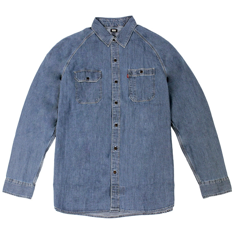 Levis Skateboarding Maintenance Denim Shirt in Chambray Washdown