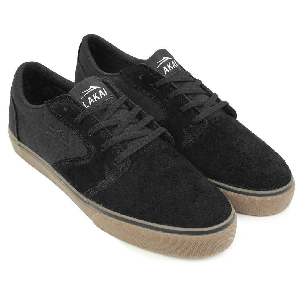 Lakai Fura Suede Shoes in Black/Gum - Pair