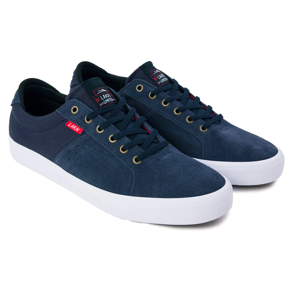 Lakai x Chocolate Skateboards Flaco Shoes in Midnight - Pair