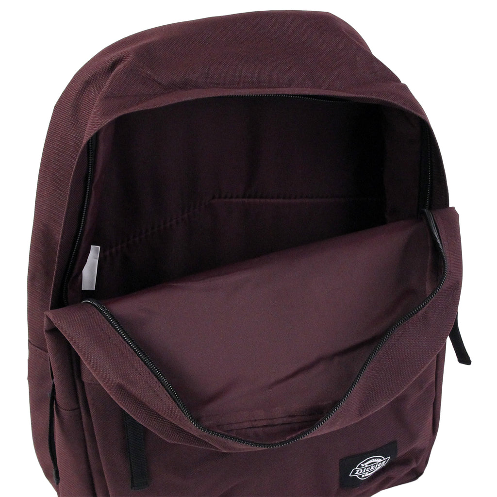 Dickies Indianapolis Backpack in Maroon - Open