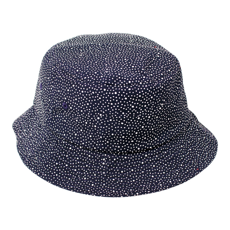 Obey Clothing Journey Bucket Hat in Navy / White