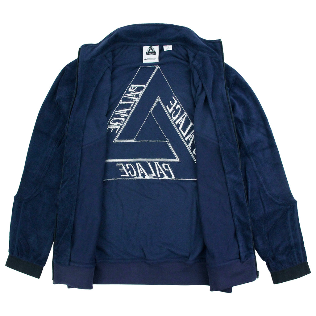 Palace x Adidas Towel Jacket in Night Indigo - Unzipped