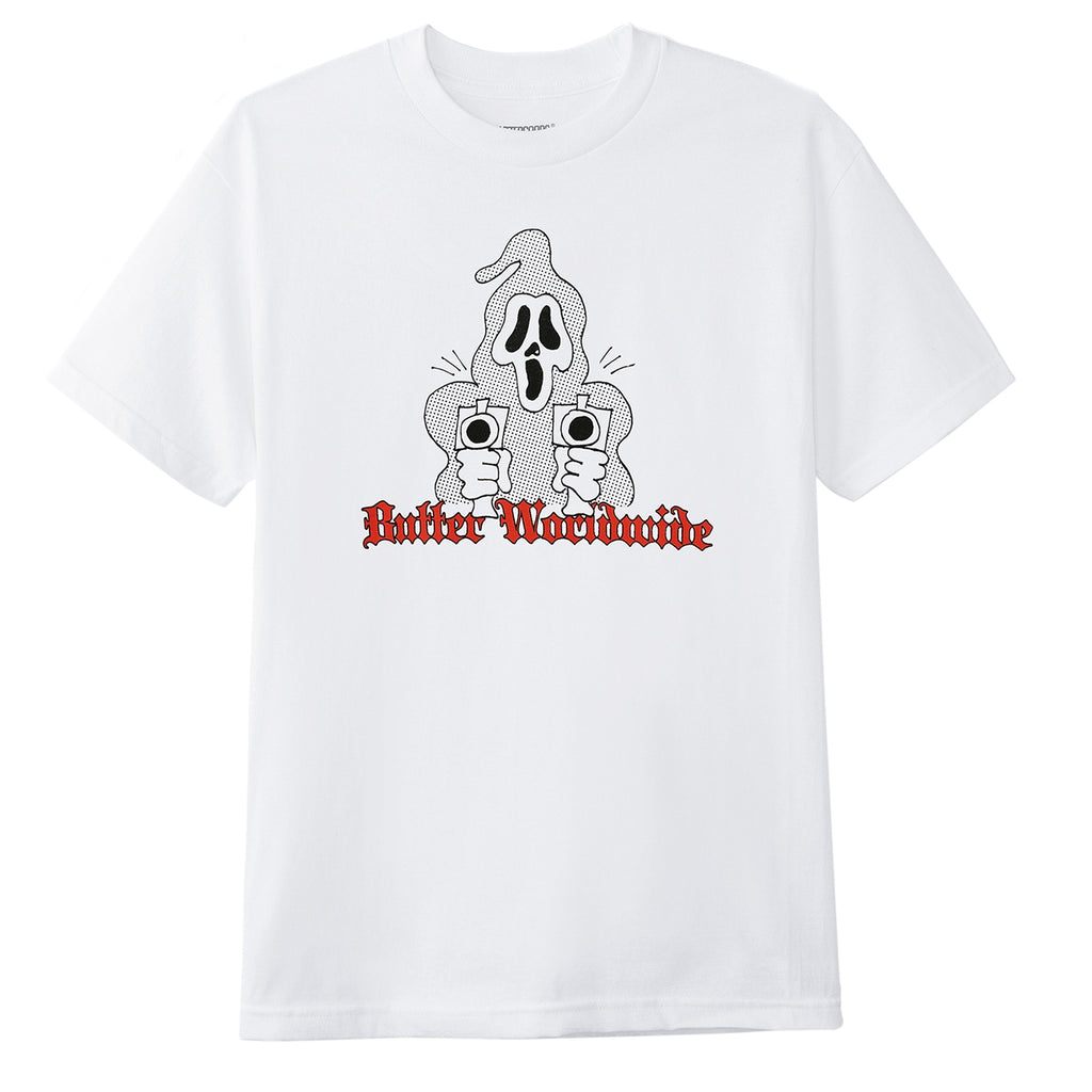 Butter Goods Scream T Shirt in White