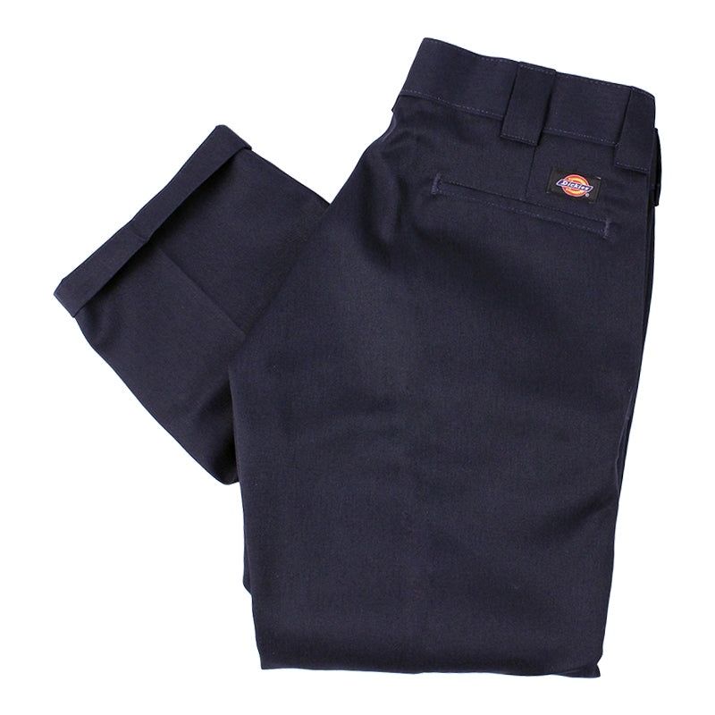 Dickies 873 Slim Straight Work Pant in Dark Navy
