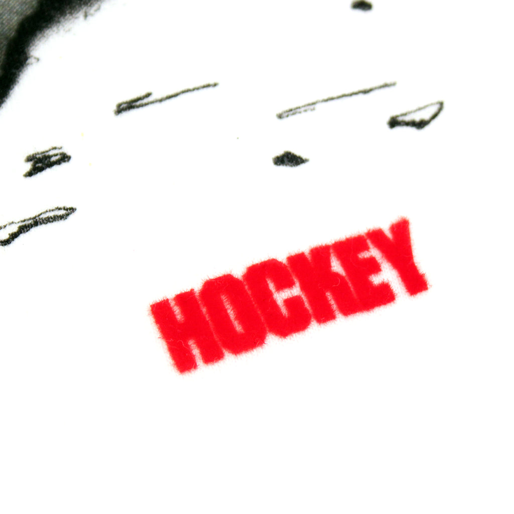 Hockey Skateboards Donny Surf Riot T Shirt in White - Felt