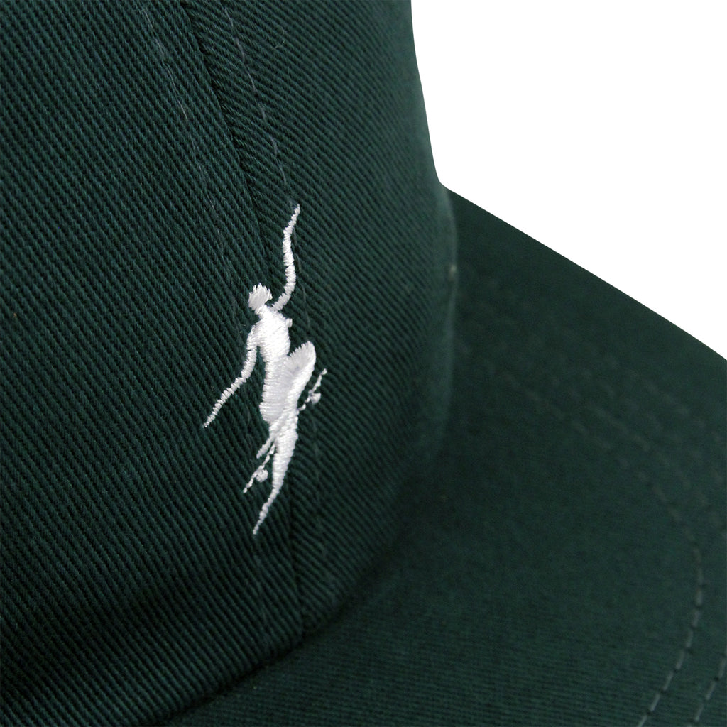 Polar Skate Co No Comply Cap in Botanical Green - Embroidery