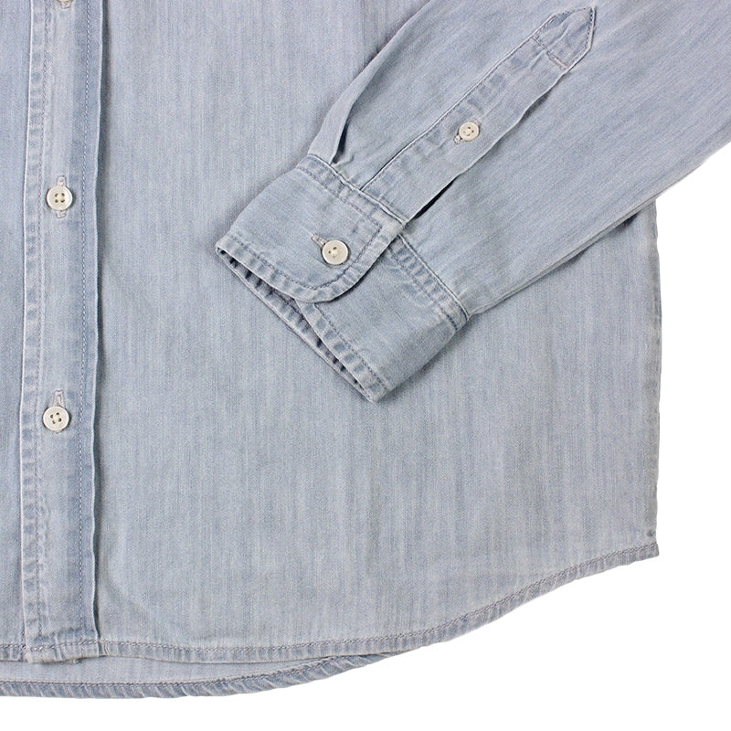 Civil L/S Shirt in Blue Stone Washed by Carhartt - Cuff
