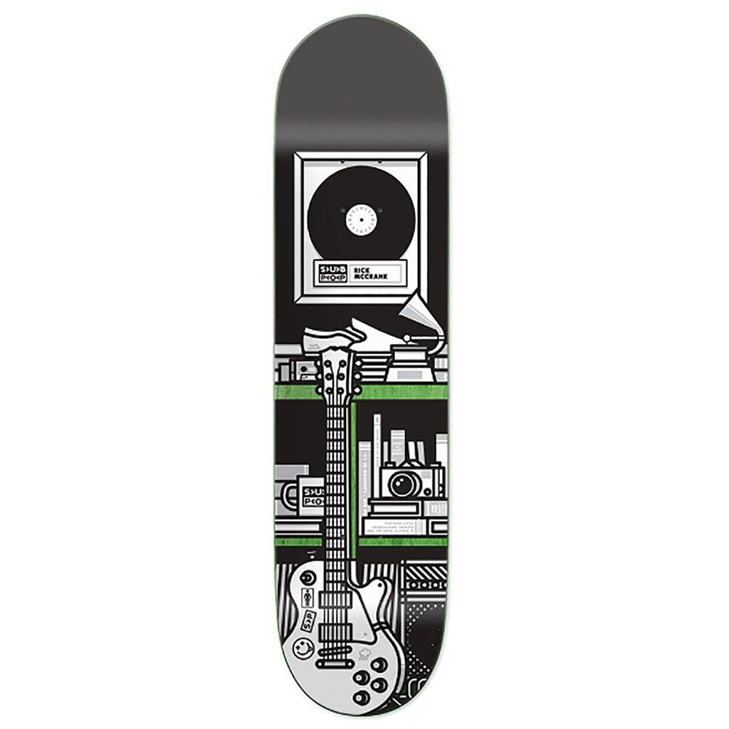 Girl Skateboards x Subpop Rick McCrank Skateboard Deck in 7.875""