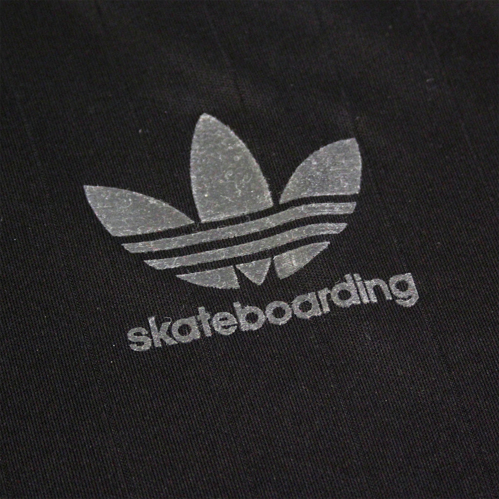 Adidas Skateboarding ADV Club Jersey in Black - Detail