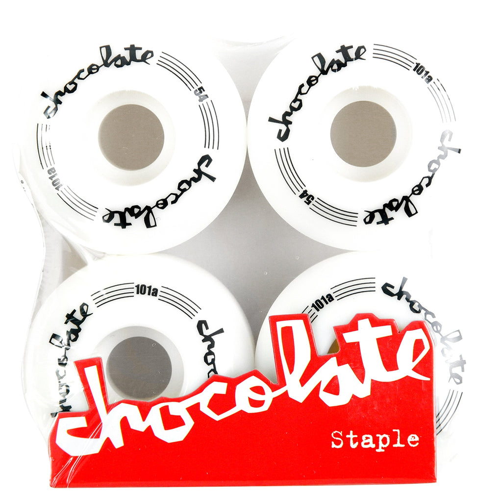 Chocolate Skateboards Chunk Classic Staple Skateboard Wheels in 54mm