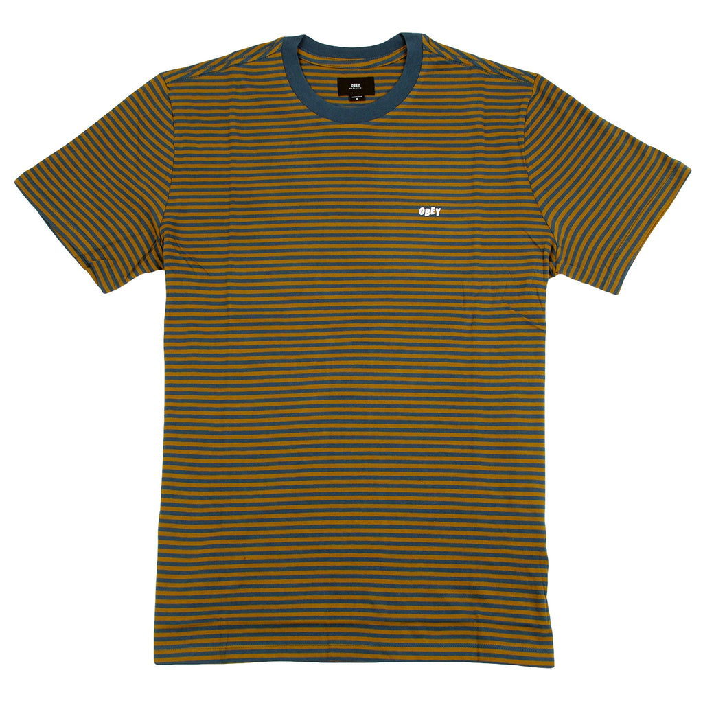Obey Clothing Apex T Shirt in Tapenade Multi