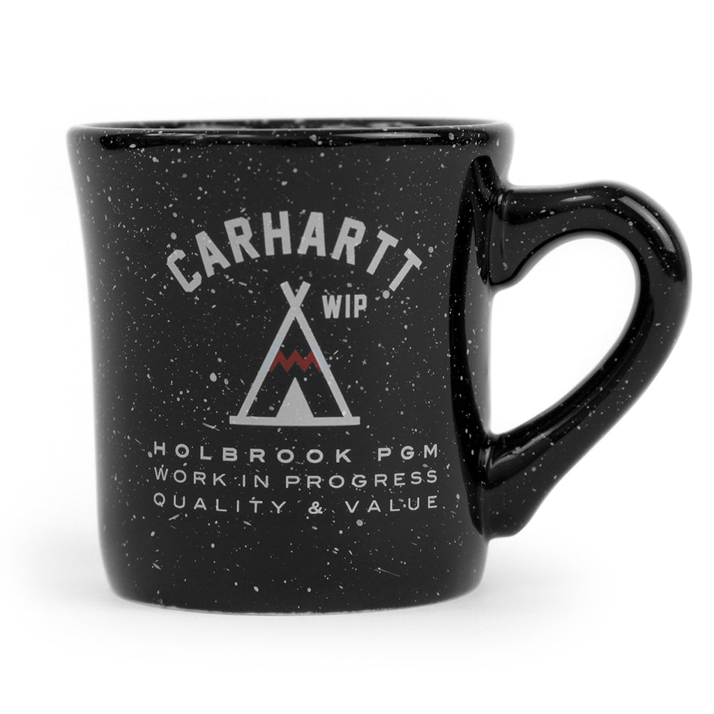 Carhartt Holbrook Diner Ceramic Mug in Black / White Speckles