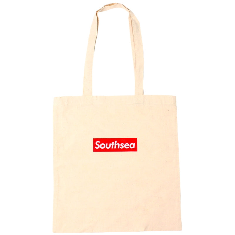 "Bored of Southsea ""Southsea"" Tote Bag in Natural"