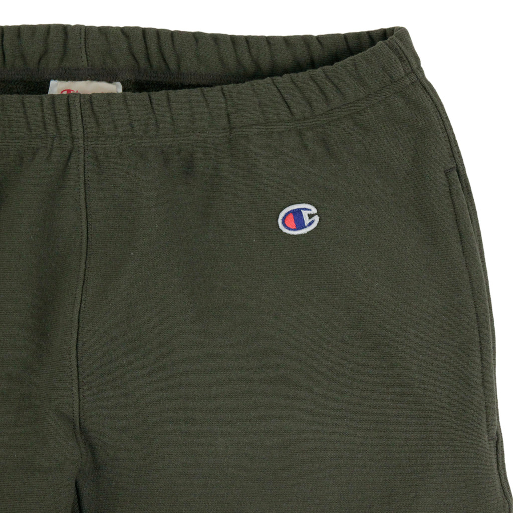 Champion Elastic Cuff Pant in Olive - Detail