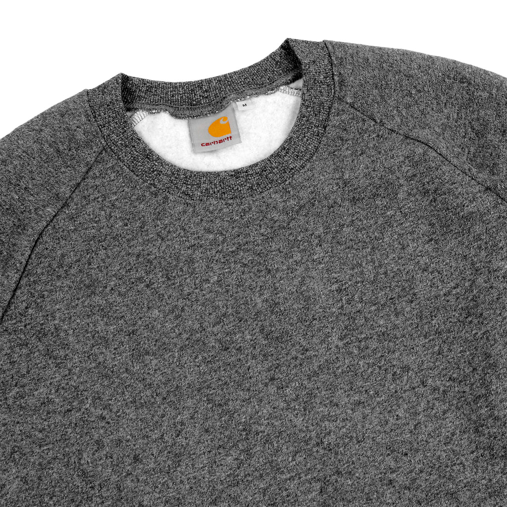 Carhartt Holbrook Sweatshirt in Black Noise - Detail