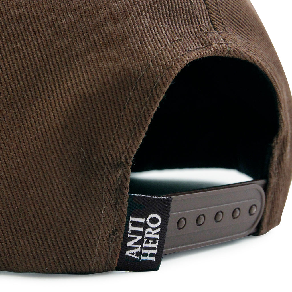 Anti Hero Skateboards Skate Co Patch Snapback Cap in Brown - Snapback