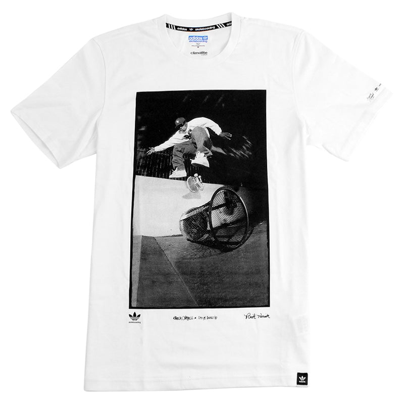 Adidas Skateboarding RYR Kareem T Shirt in White