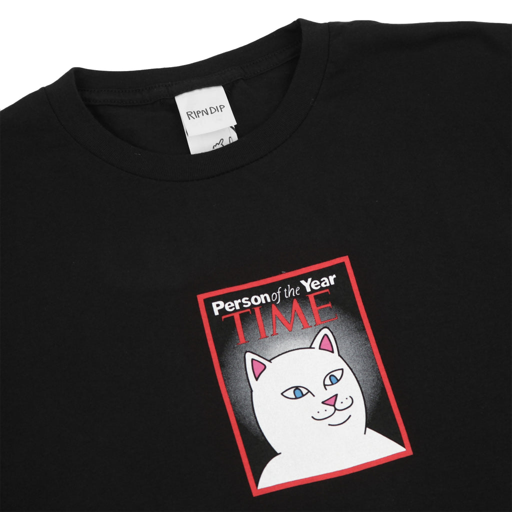 RIPNDIP Nerm Of The Year T Shirt in Black - Detail