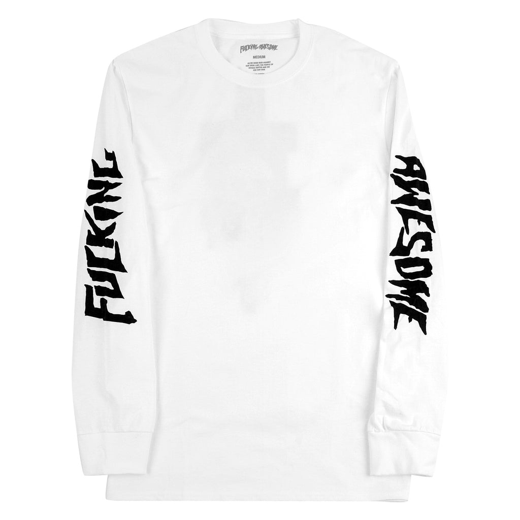 Fucking Awesome KB Collage L/S Shirt in White