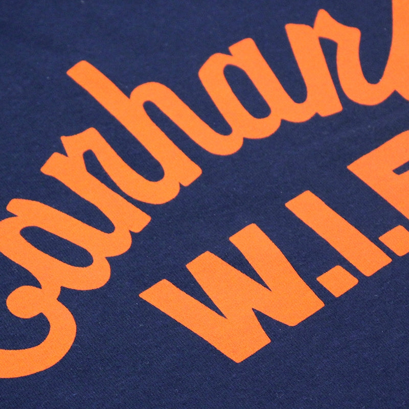 Carhartt WIP Window Script T Shirt in Juniper - Print