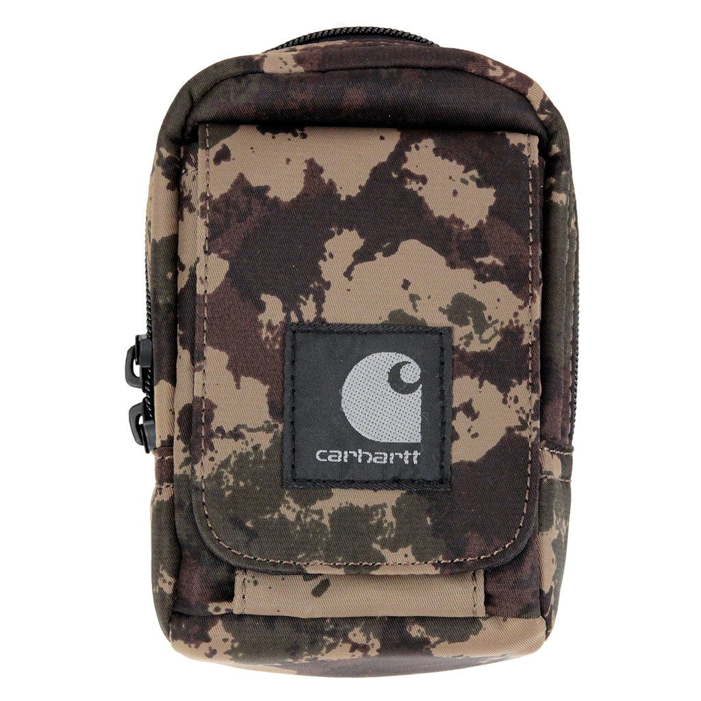 Carhartt Small Bag in Camo Painted Green