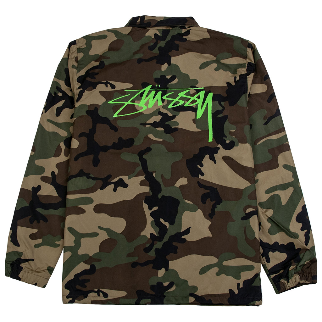 Stussy Cruize Coach Jacket in Camo