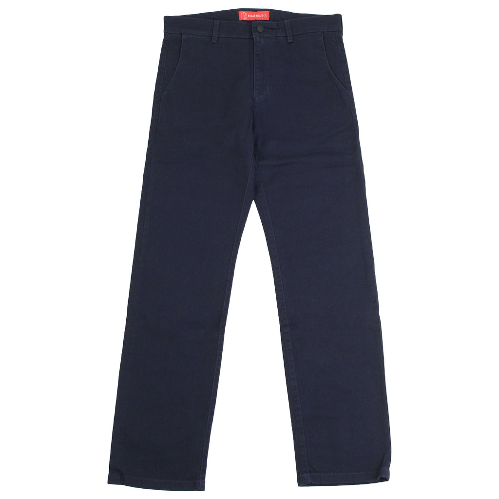 Polar Skate Co Default Chino in Navy - Open
